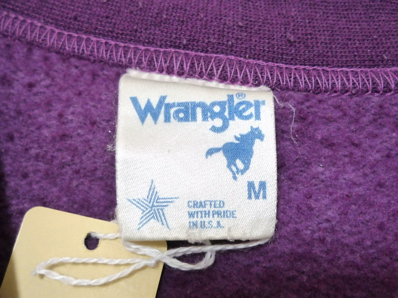 80's Wrangler スウェットカーディガン