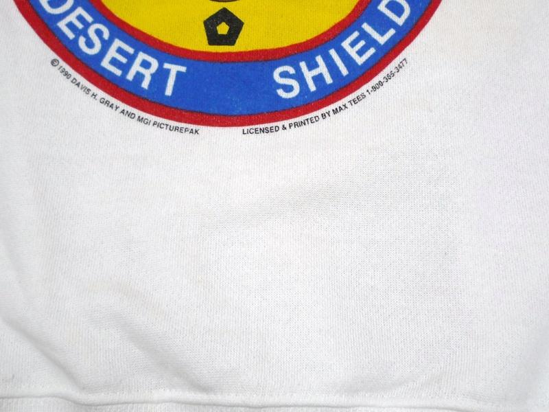 90's OPERATION DESERT SHIELD 湾岸戦争