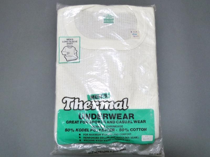 80's THERMAL サーマルシャツ
