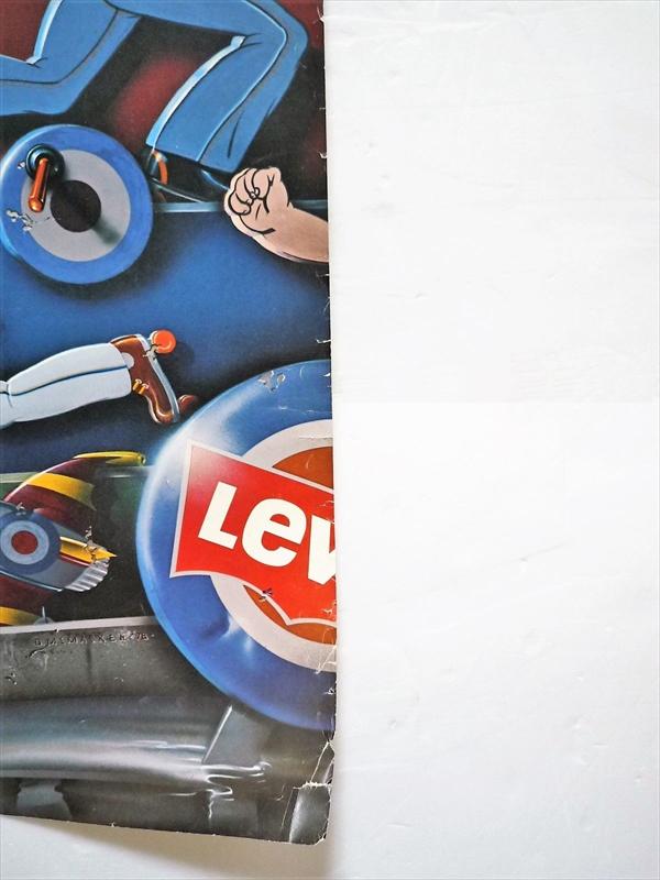 1978年 Levi's Movin' On ポスター by D. McMacken
