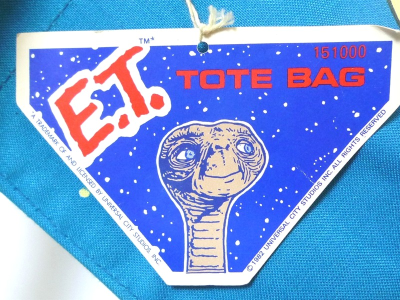 80's E.T. トートバッグ デッドストック