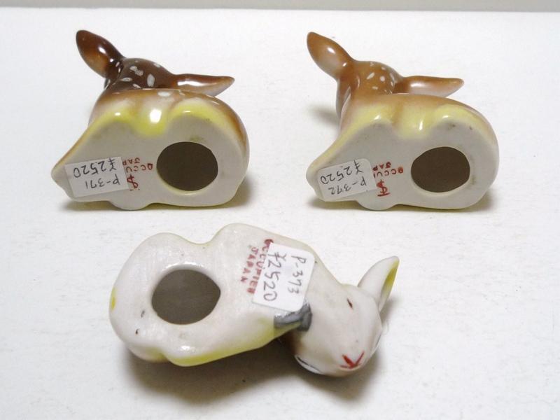 40〜50's 小鹿 3体セット Occupied Japan