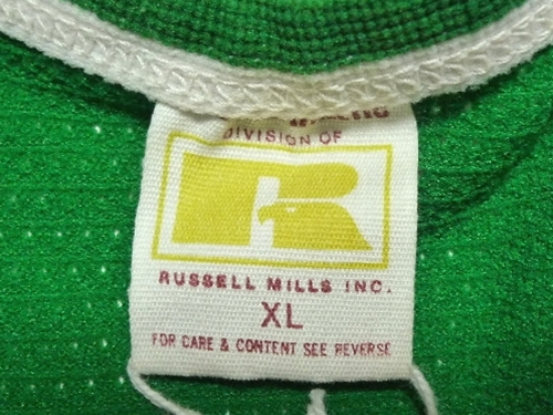 70's Russell Athletic 金タグ