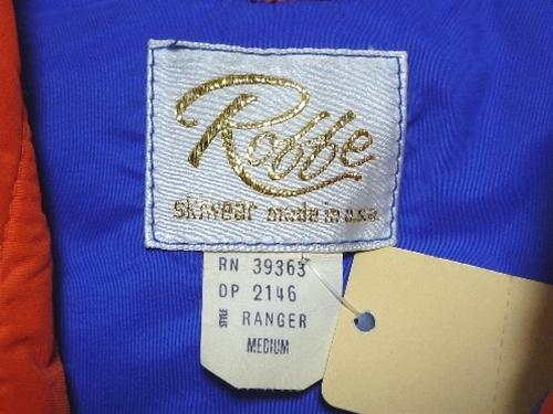 70〜80's Robbe スキーベスト