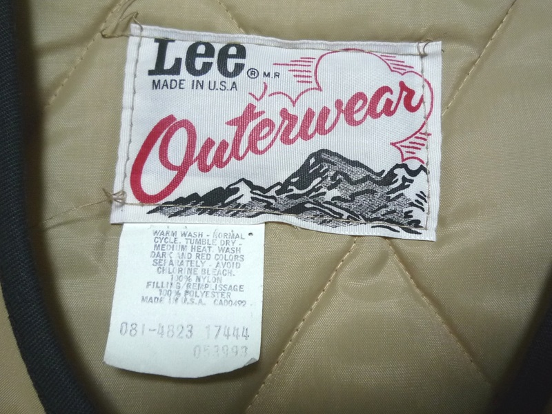 70's Lee Outerwear