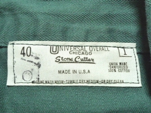 70's UNIVERSAL OVERALL