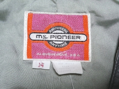 70〜80's ms.pioneer ファー&レザー