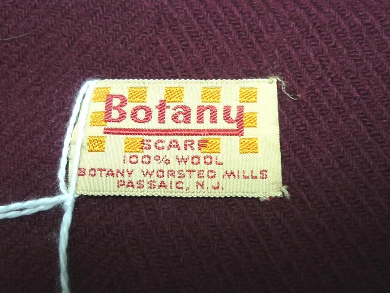 Botany マフラー