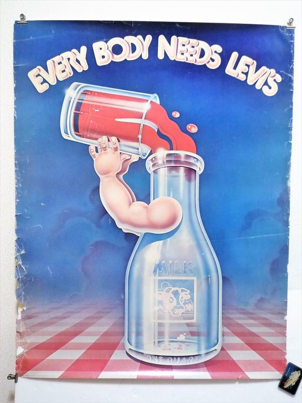 70's LEVI'S Sta-Prest ポスター by Gomez