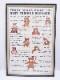 1982年 テディベア 額付きポスター