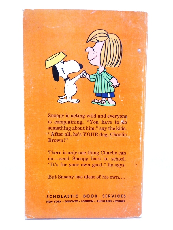 60〜70's スヌーピー 本 He's Your Dog,Charlie Brown!