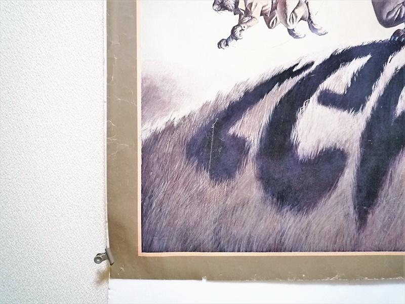 1974年 Levi's animal shadows ポスター