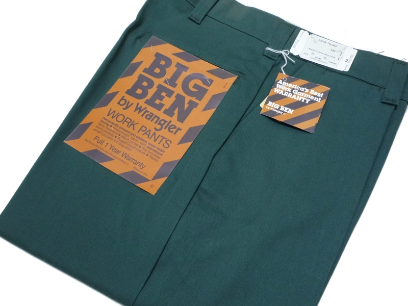 70〜80's BIG BEN by Wrangler ワークパンツ