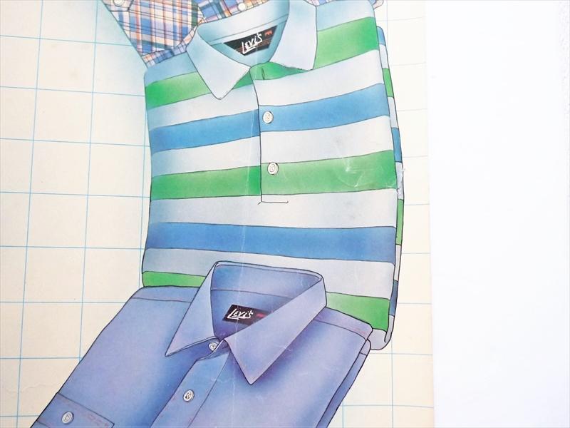1980年 Levi's Shirts ポスター