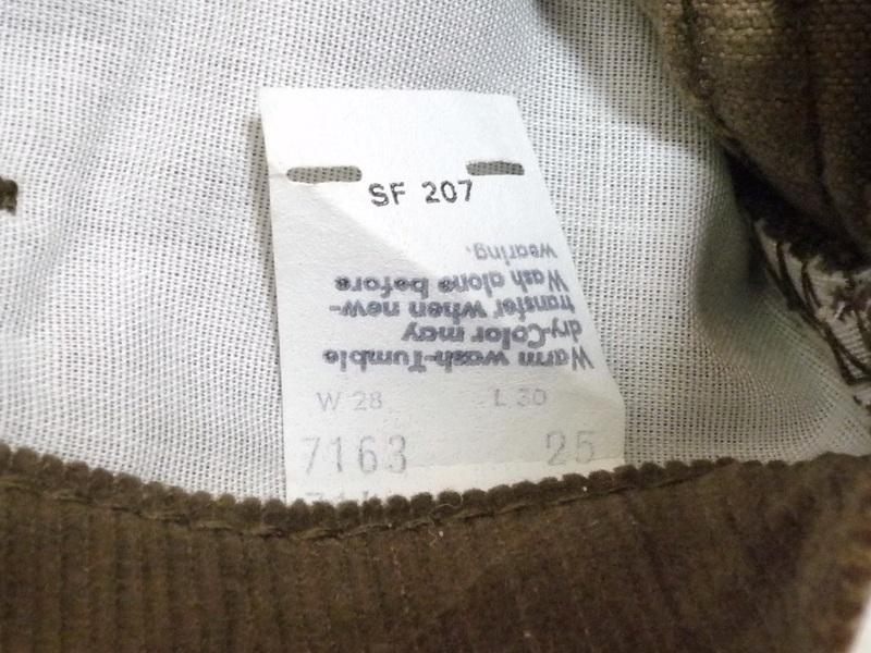 70's Levi's コーデュロイパンツ BIG E