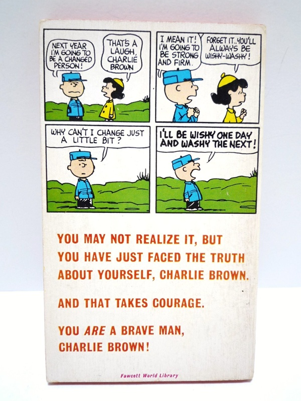 60〜70's スヌーピー 本 YOU'RE A BRAVE MAN,CHARLIE BROWN