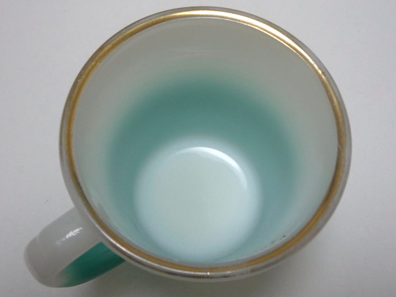 Dハンドル 白・青緑