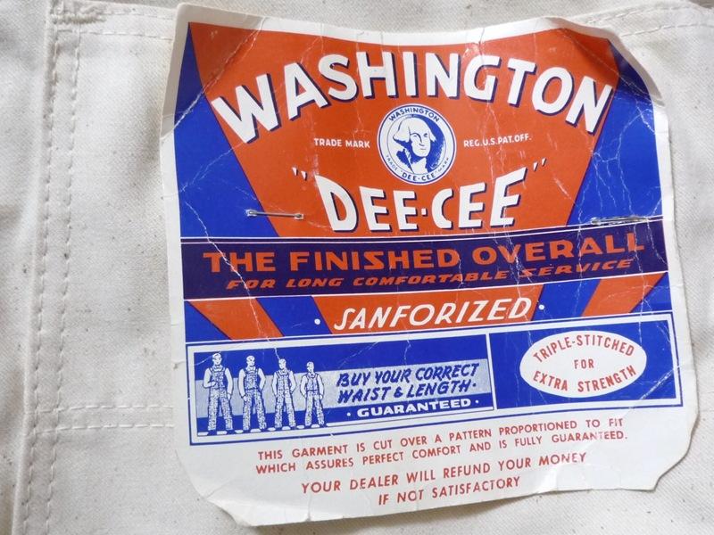 70's WASHINGTON DEE CEE オーバーオール