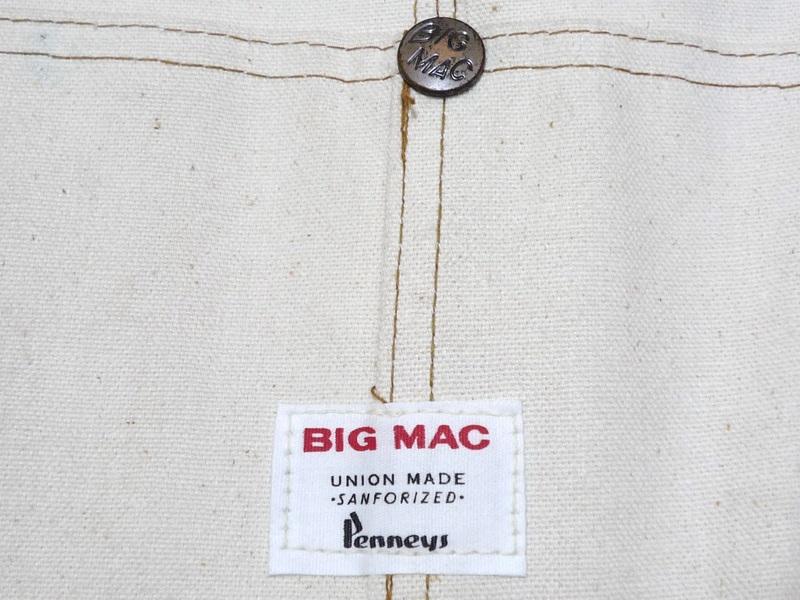 60's BIG MAC オーバーオール 大きめサイズ