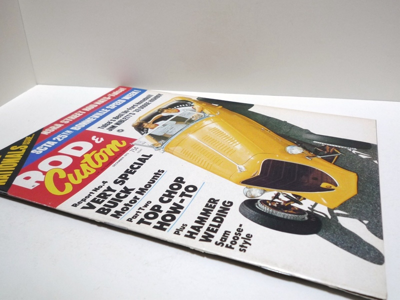 1973年 ROD&Custom ホットロッド雑誌
