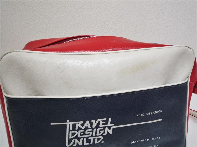 70〜80's TRAVEL DESIGN UNLTD. ツアーバッグ