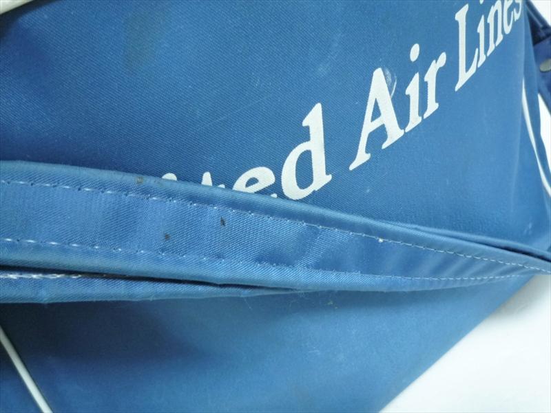 70〜80's United Air Lines エアラインバッグ