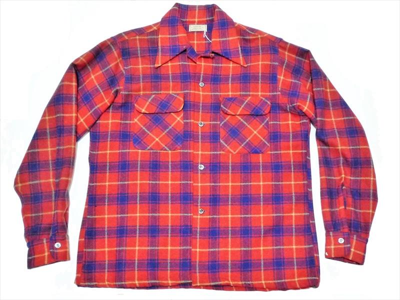 50's ARROW ウールシャツ