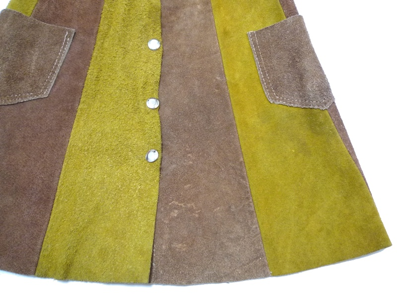 70's レザースカート