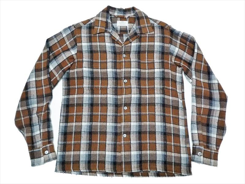 60's VAN HEUSEN ウールシャツ