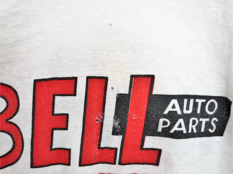 60's BELL AUTO PARTS 両面染み込みプリント