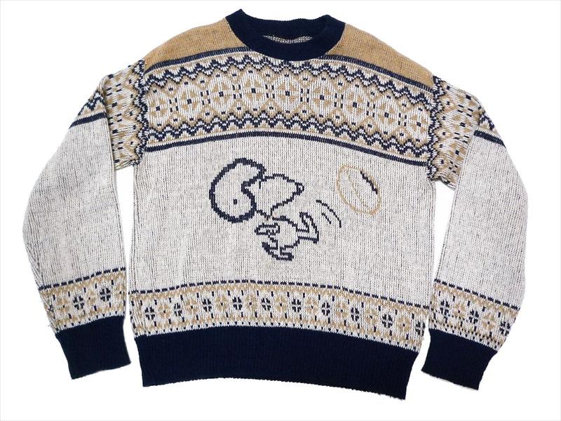 70's スヌーピー セーター