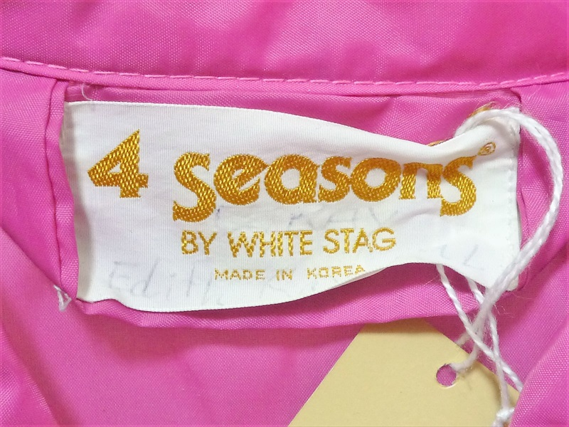 80〜90's 4 Seasons BY WHITE STAG ナイロンジャケット