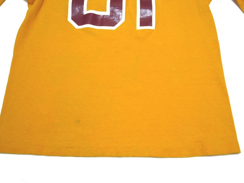 70's チャンピオン フットボールT CLOVIS WEST