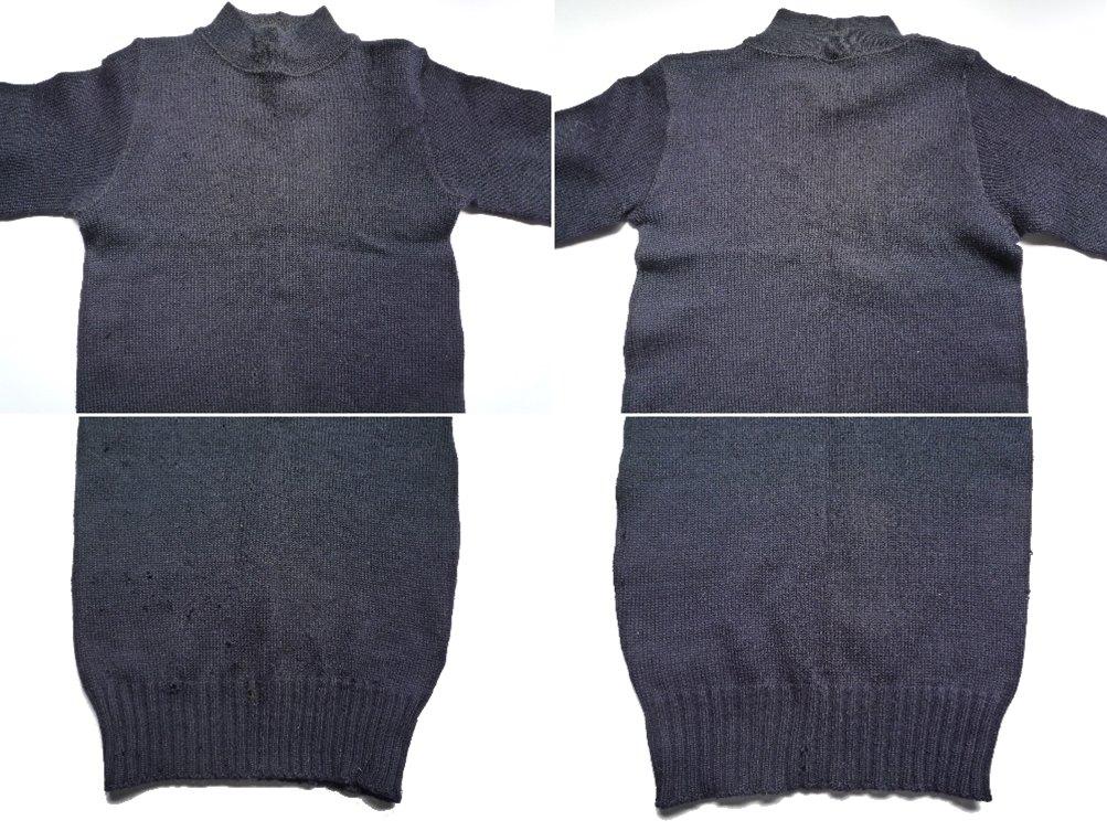 40's NAVY セーター