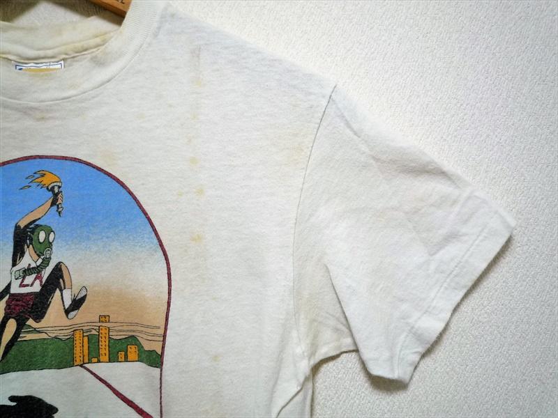 80's SUMMER GAMES ロサンゼルスオリンピック ガスマスク 聖火リレー