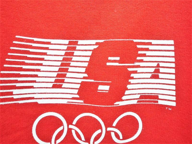 80's Levi's LAオリンピック スウェットシャツ デッドストック