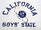 40〜50's CALIFORNIA BOYS' STATE
