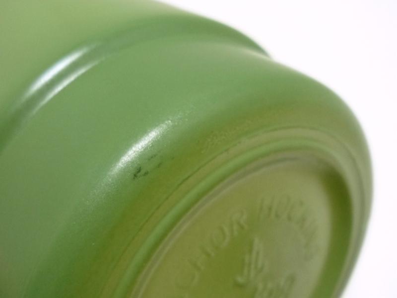 ラウンドハンドル 暗緑