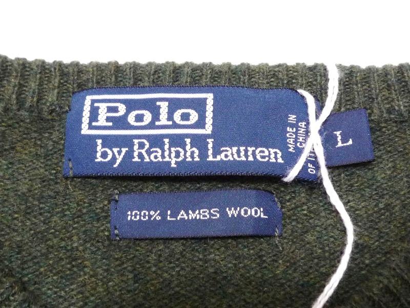 Polo by Ralph Lauren Vネックセーター