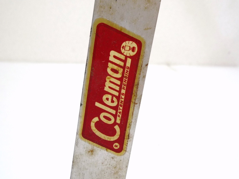 60's Coleman MODEL 591B499 FOLDING ALUMINUM HI-STAND