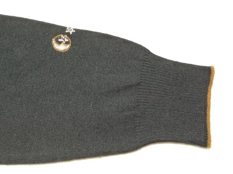 80's ふくろう Vネックセーター