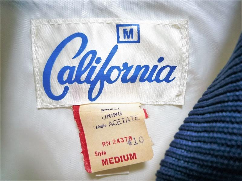 80's California ナイロンジャケット