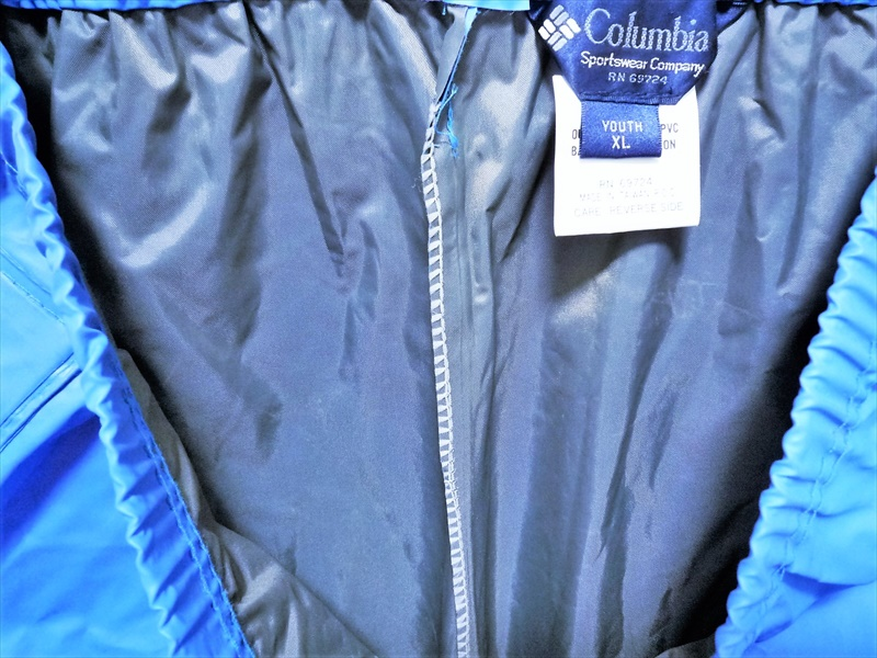 80〜90's Columbia Rain Gear 上下セット