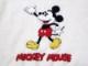 80's ミッキーマウス Vネックセーター
