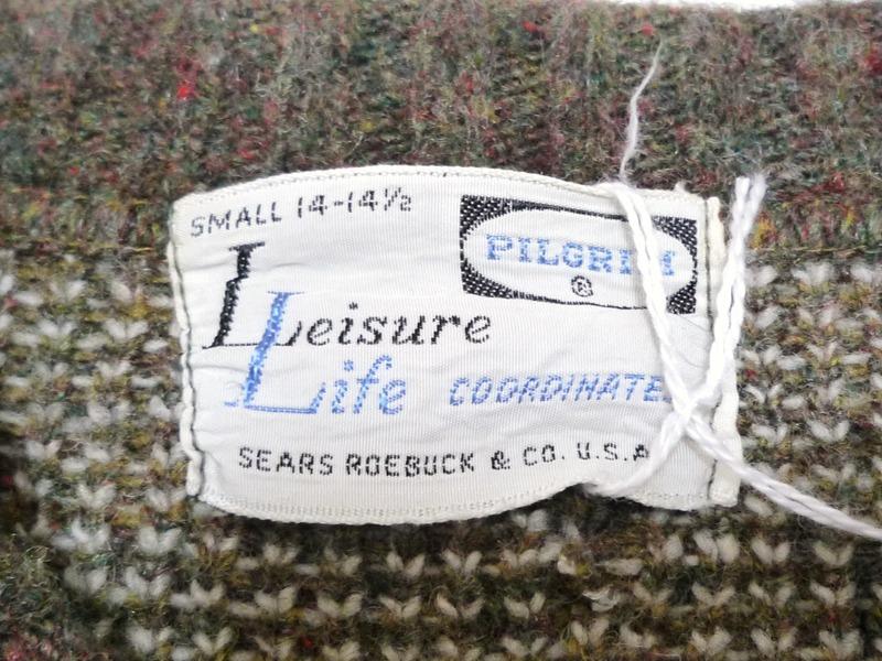 50〜60's PILGRIM セーター
