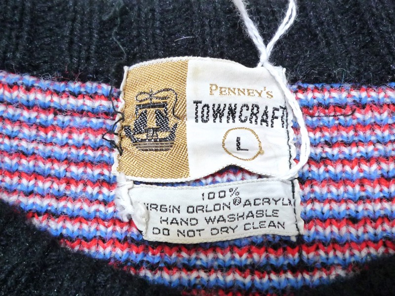 50〜60's TOWNCRAFT セーター