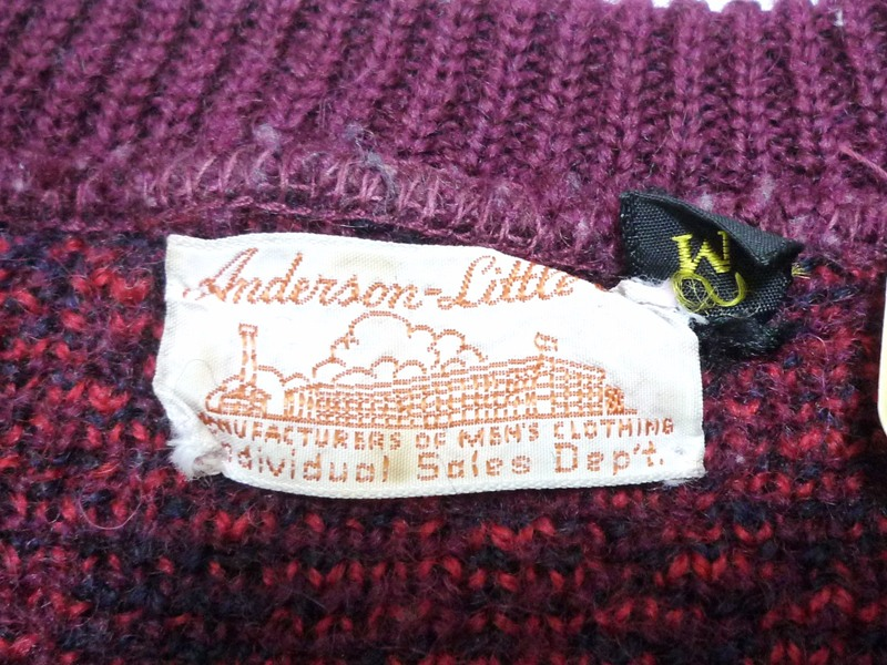 60's Anderson Little co. セーター