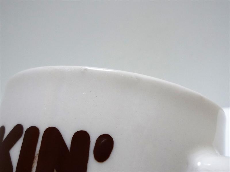 70's DUNKIN' DONUTS 陶器製マグカップ