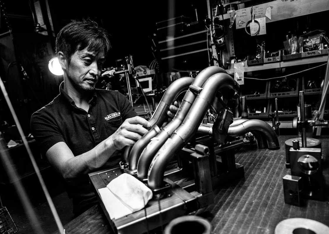 【チタン製タンブラー】鈴鹿から世界へ届けるチタンマフラー技術  マーベリックの傑作品ミニシリーズ