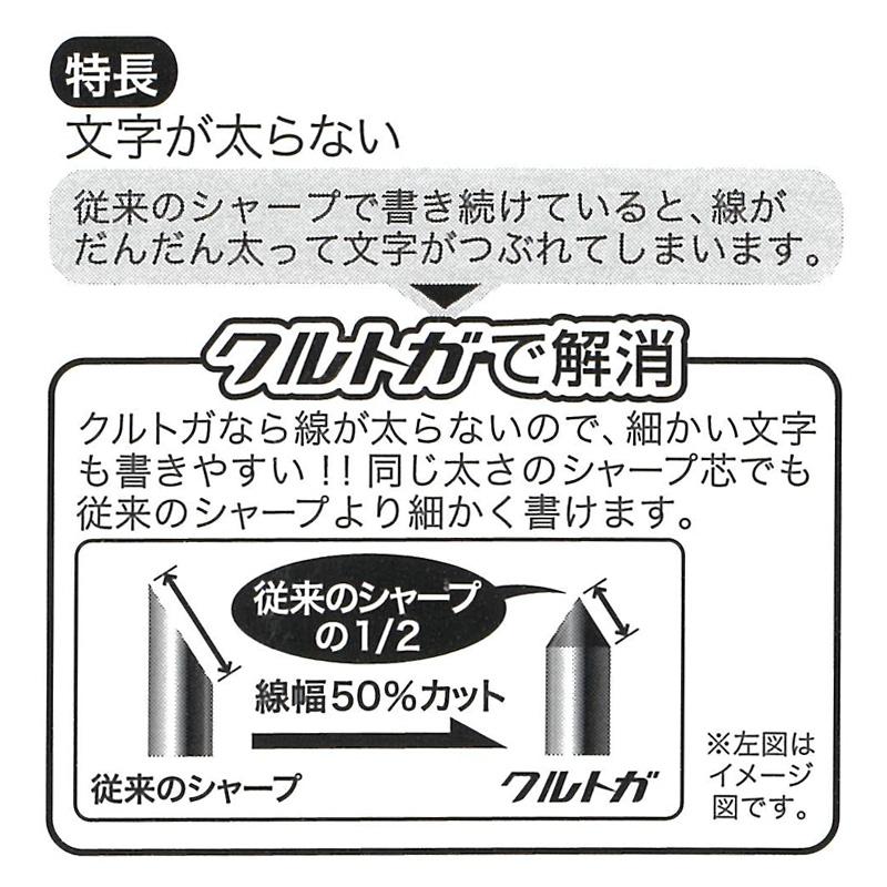 [EB198F] ミッフィー×クルトガ シャープペンF 0.5mm ロイヤルブルー [miffy][Dick Bruna][KURU TOGA]